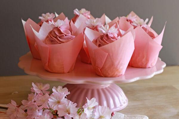 Cherry Blossom Cupcakes City Cupcakes