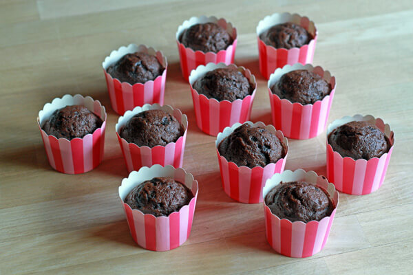 Nutella-Strawberry Cupcakes