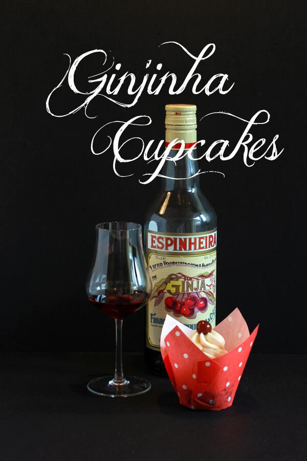 Ginjinha Cupcakes
