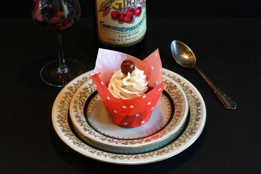 Ginjinha Cupcake