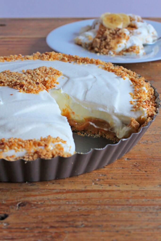 Banana Caramel Cream Pie