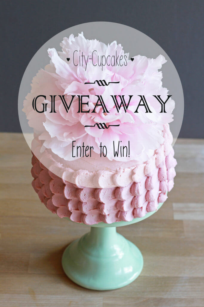 Raspberry Cream Cake & a Giveaway