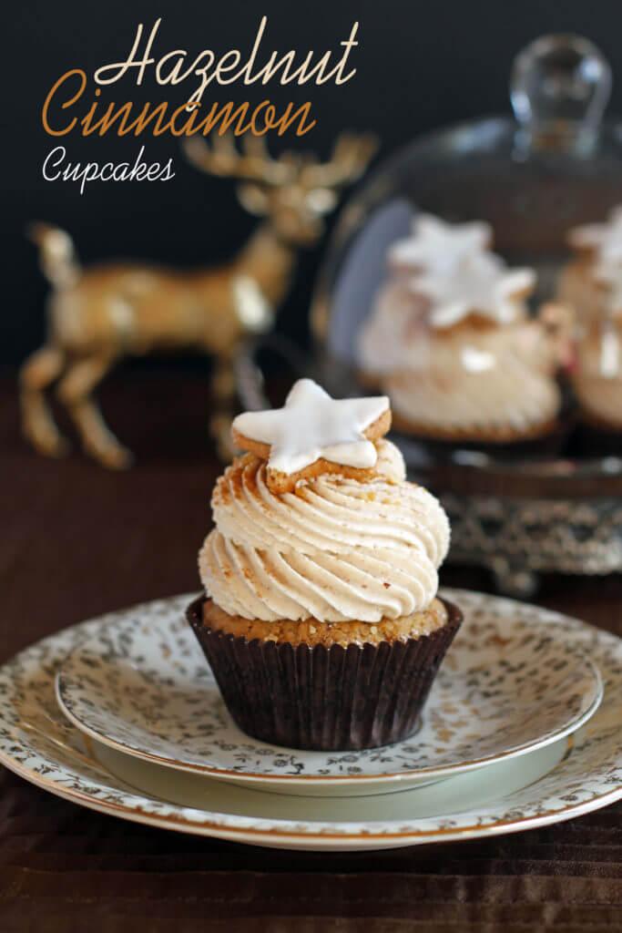 Cinnamon Hazelnut Cupcakes