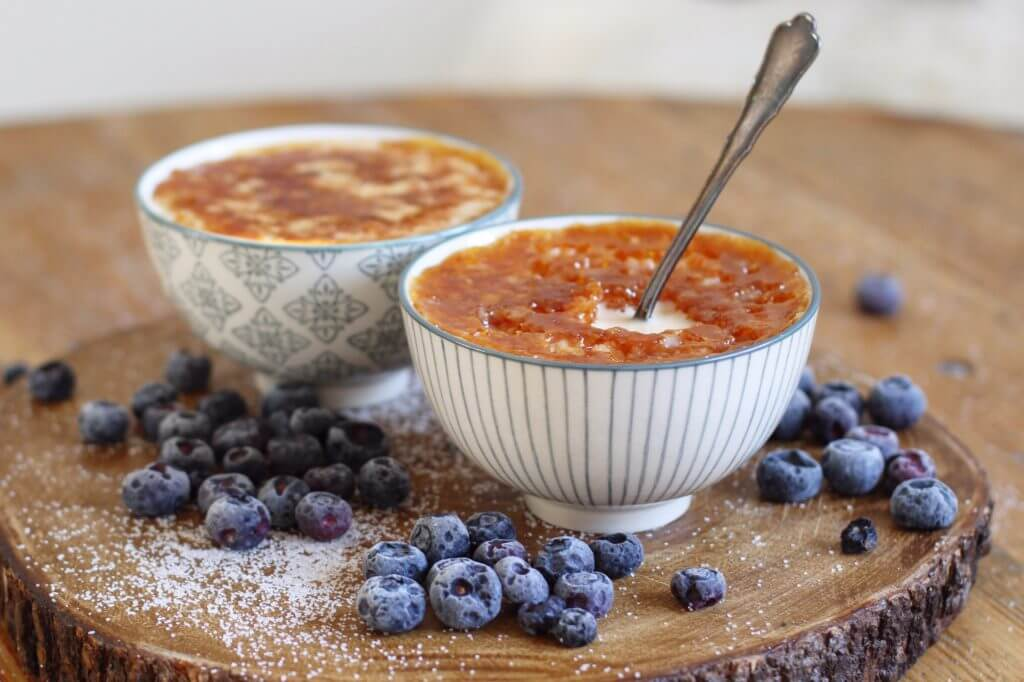 Creme Brulee Milchreis / Creme Brulee Rice Pudding