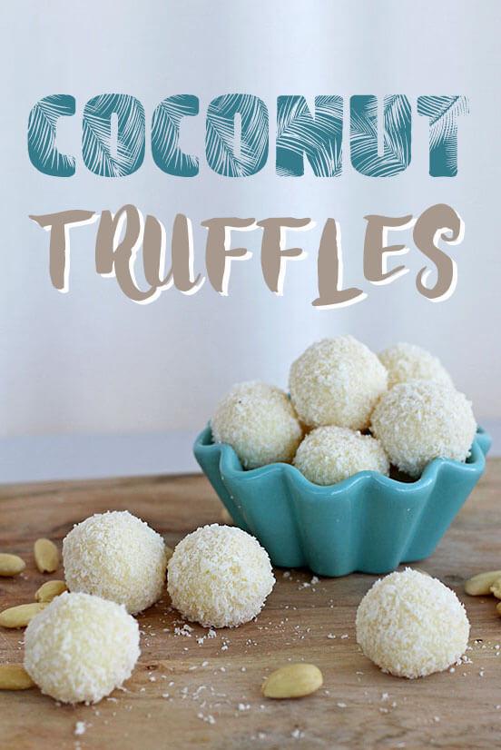 coconut truffles / kokosnuss pralinen