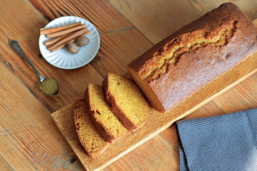 Pumpkin Bread - Kürbiskuchen