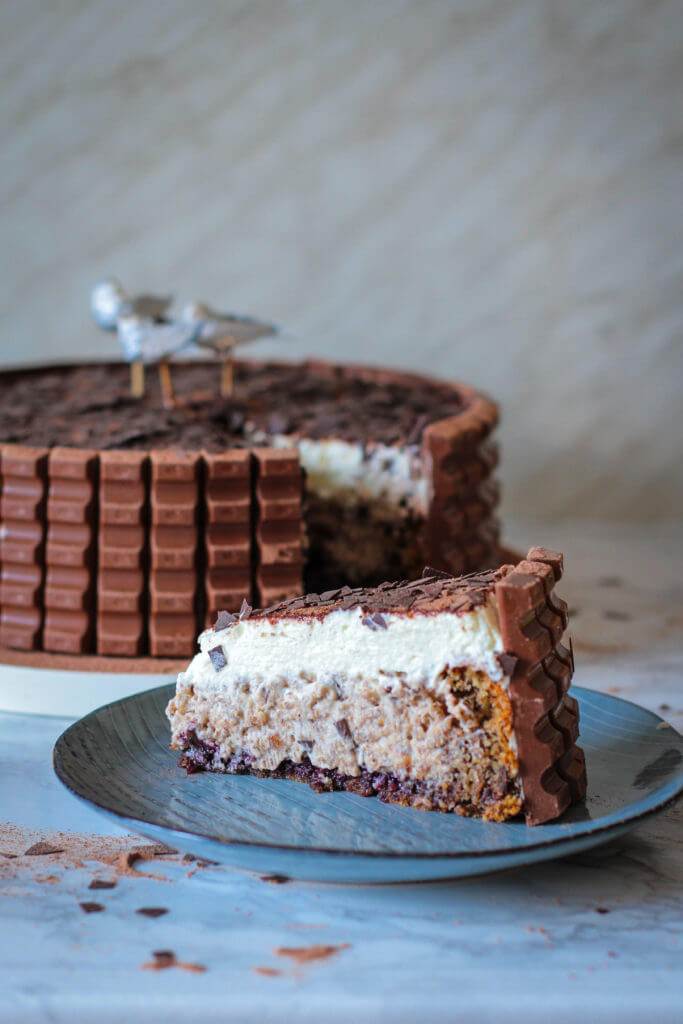 Kinderschokolade Torte | Kinder chocolate cake