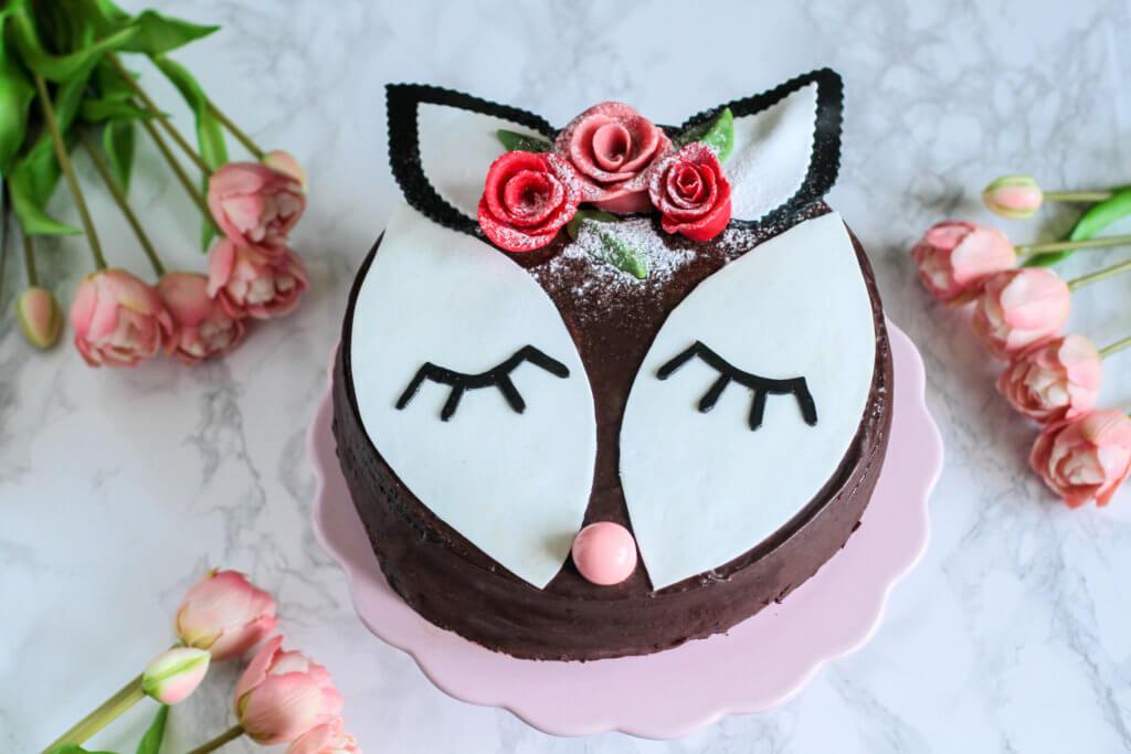 Nutella-Himbeertorte | Nutella-Raspberry Cake