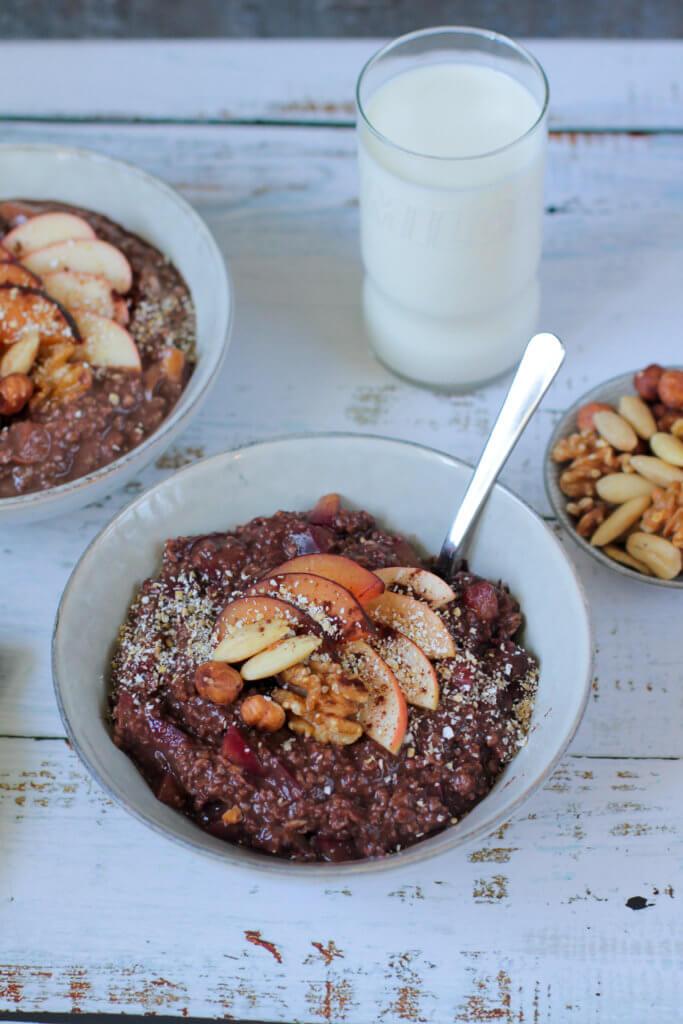Haferbrei | Porridge | Oatmeal [VEGAN]