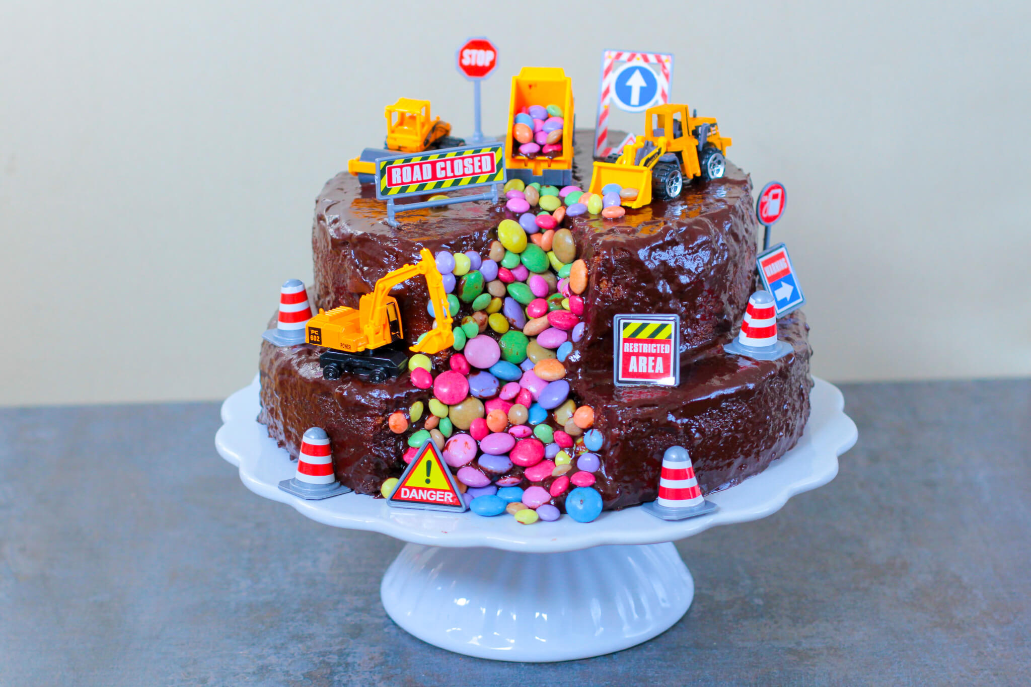Bagger Kuchen | Digger Cake