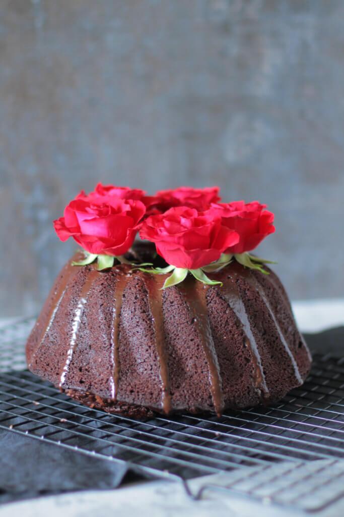 Valentistag Schoko-Kuchen | Valentine's Day Chocolate Cake