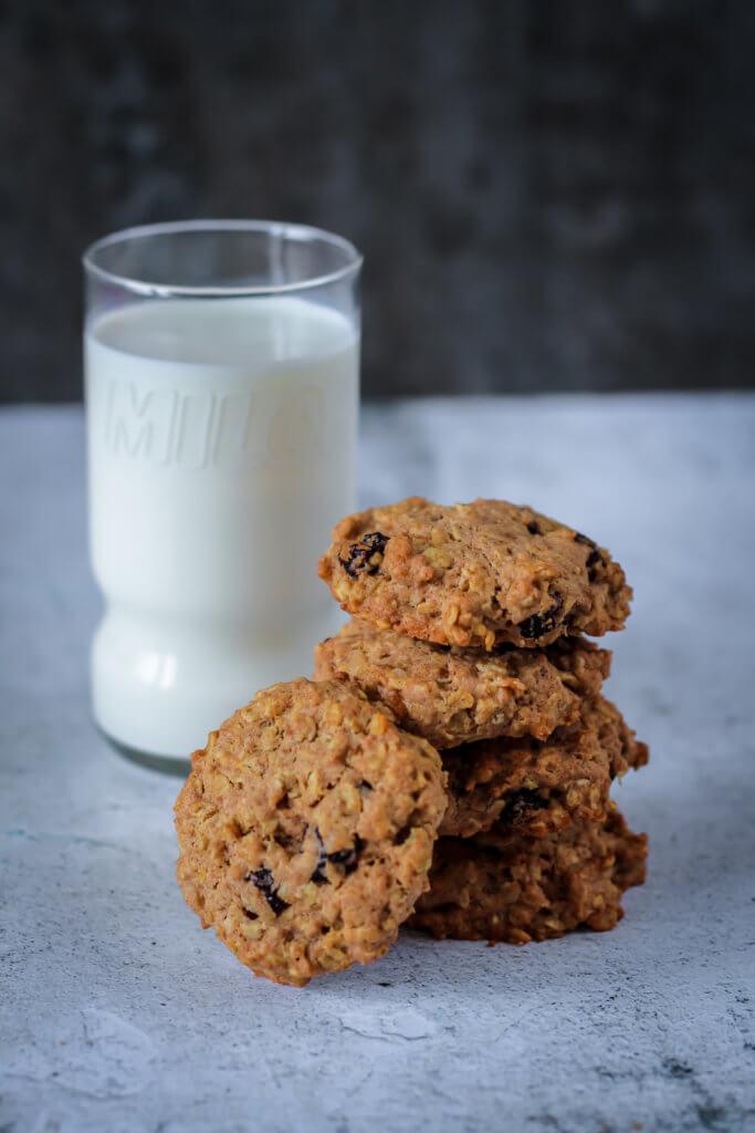 Cranberry Haferflocken Kekse | Cranberry Oatmeal Cookies