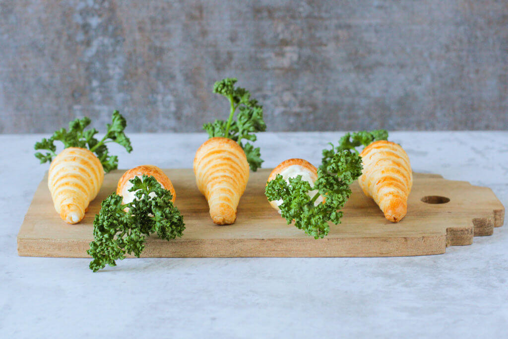 Blätterteig Karotten | Puff Pastry Carrots