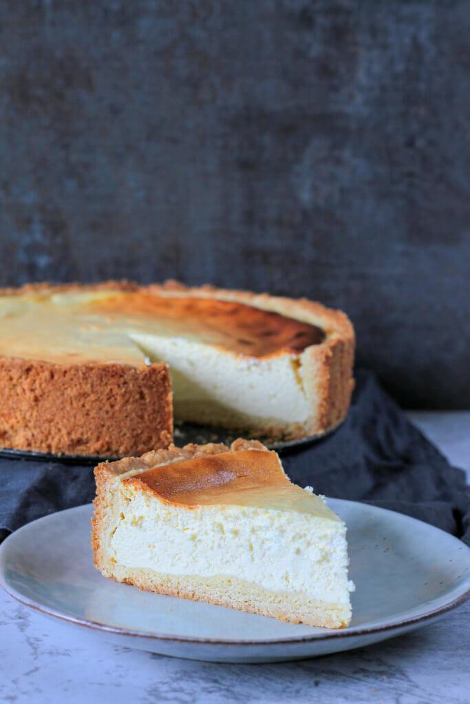 Käsekuchen | German Cheesecake
